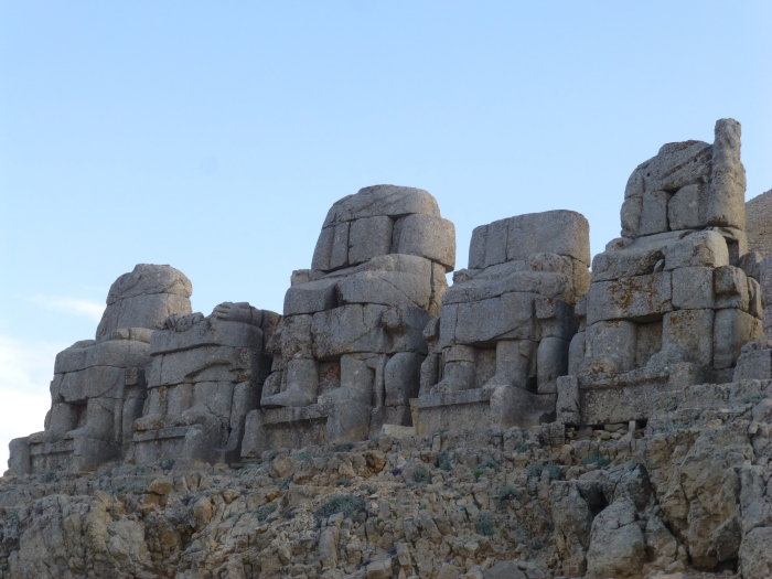 Built by King Antiochus I in the Eastern Taurus Mountains.